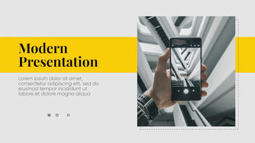 Modern Presentation - Premiere Business Premiere Proテンプレート