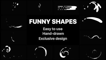 Funny Abstract Shapes Premiere Pro Template
