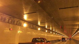 Inside Fort Pitt Tunnel POV 60fps 3809 Footage