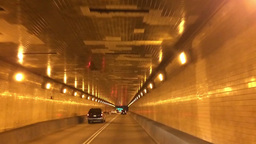 Driving inside the Fort Pitt Tunnel POV 60fps 3810 Footage