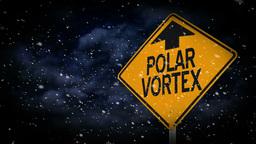 Polar Vortex Graphic 4002 Footage