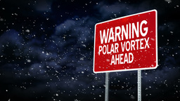 Polar Vortex Graphic 4003 Footage