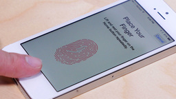 iPhone 5S Fingerprint Scanner 4137 Footage