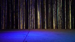 Empty Stage With Curtain 4170 stock footage