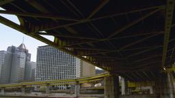 4K Fort Duquesne Bridge 4224 Footage