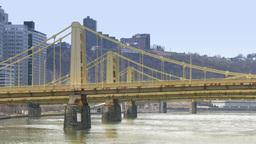 4K Three Sisters Bridges 4234 Footage