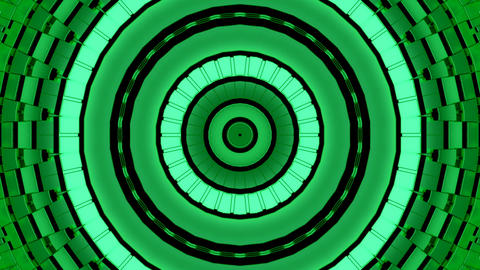 Background Green Shimmer Kaleidoscope Abstract CG動画素材