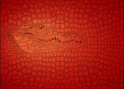 Pattern background crocodile ベクター