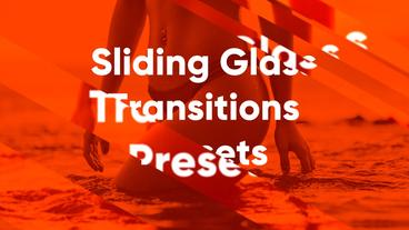 Sliding Glass Presets Premiere Pro Template