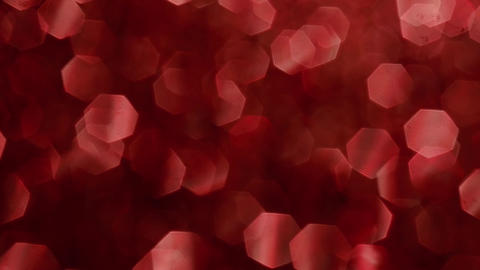 Abstract shiny glitter particles. Abstract background with red shining bokeh Live Action