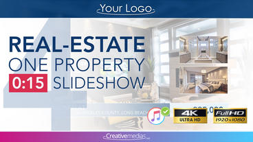 Real-Estate One Property 15s Slideshow 4 After Effects Template