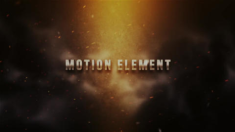 Action Trailer Titles After Effectsテンプレート