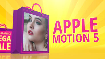 Mega Sale Apple Motion Template