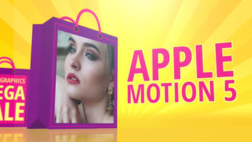 Mega Sale: Template for Apple Motion 5 and Final Cut Pro X Apple Motionテンプレート