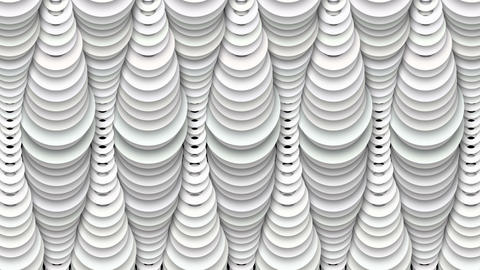 Abstract White Drop Shadow Decor Animation