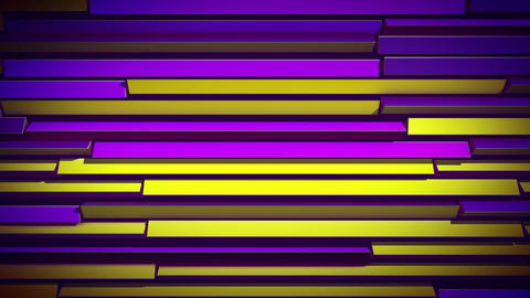 Abstract Colorful Rotating Shutter Animation