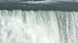 Niagara Falls in Super Slow Motion Footage