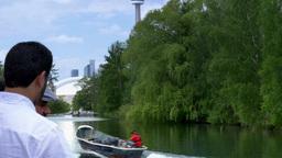 4K Fisherman on Lake Ontario Footage