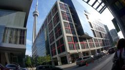 4K Traffic in Downtown Toronto Footage