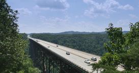 4K New River Gorge Bridge Footage
