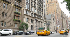 Typical New York City Upper West Side Apartment Establishing Shot Footage