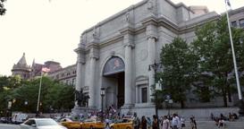 4K Museum of Natural History Establishing Shot Footage