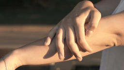 The woman hands v1 Footage