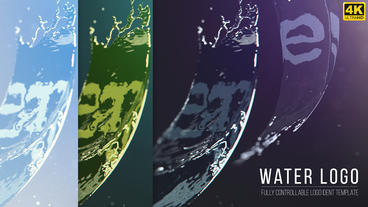 Water Logo After Effects Template