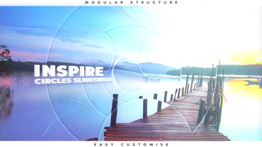 Inspire Circles Slideshow After Effectsテンプレート