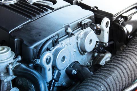 car engine Fotografía
