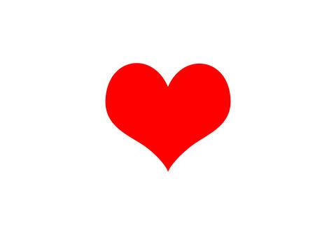 Heart pink bokeh of love symbol on white background Fotografía