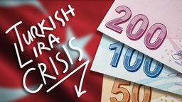 Turkish Lira Crisis Illustration Photo