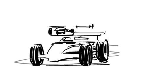 F1 race Animation