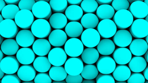Background of Cylinders Animation