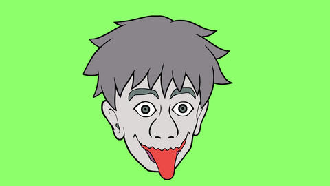 Cartoon head 2 GIF