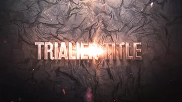 Trailer Title Plantilla de After Effects