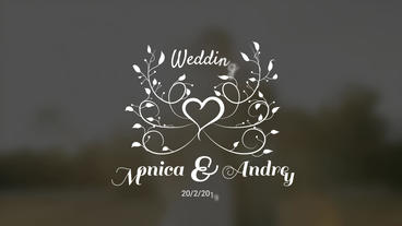 WeddingTitles Plantilla de After Effects