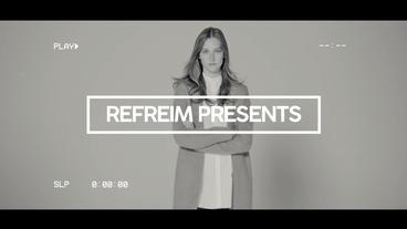 Modern VHS Opener Premiere Pro Template