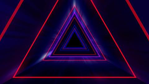 Triangle VJ 01 HD Animation