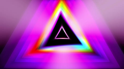 Triangle VJ 03 HD Animation