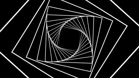 Digital generated video of concentric lines 4k Live Action