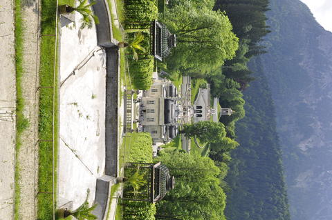 Linderhof Palace German: Schloss Linderhof is a Schloss in Germany, in Bavaria Photo