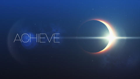 Achieve my goals and solar eclipse 4k Live Action