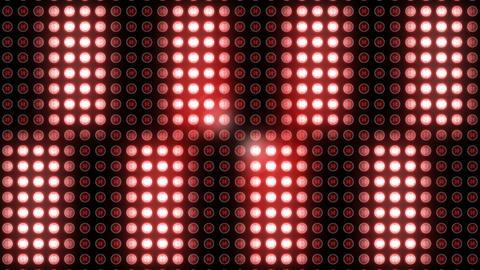Flickering disco light at club 4k Footage