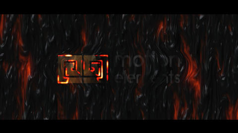 Lava Logo After Effects Template