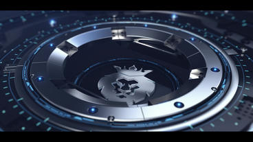 Metal Technology logo Plantilla de After Effects