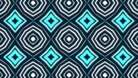 Abstract background with animation of rotation retro patterns Animation