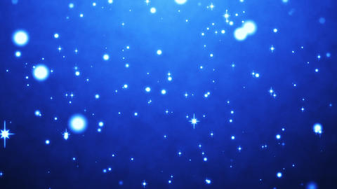 cute blue particles abstract background CG動画