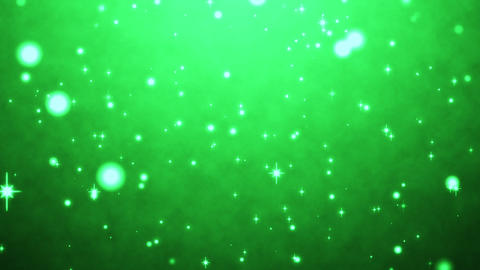 cute green particles abstract background CG動画