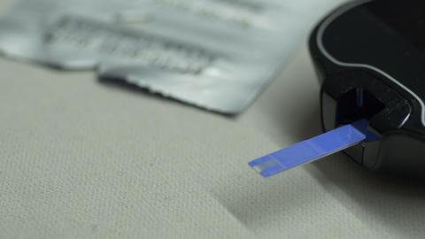 Diabetes glucose measurement procedure GIF
